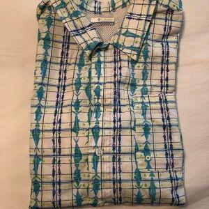 Columbia Shirts - Patterned Columbia PFG shirt